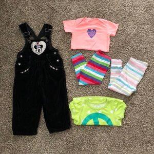 Girls 24m-2T misc clothes bundle